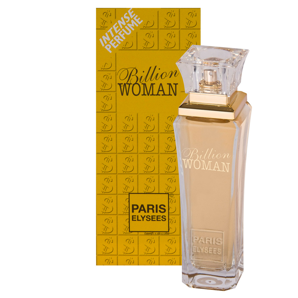 Perfume Edt Paris Elysees Billion Woman 100ml - Pc