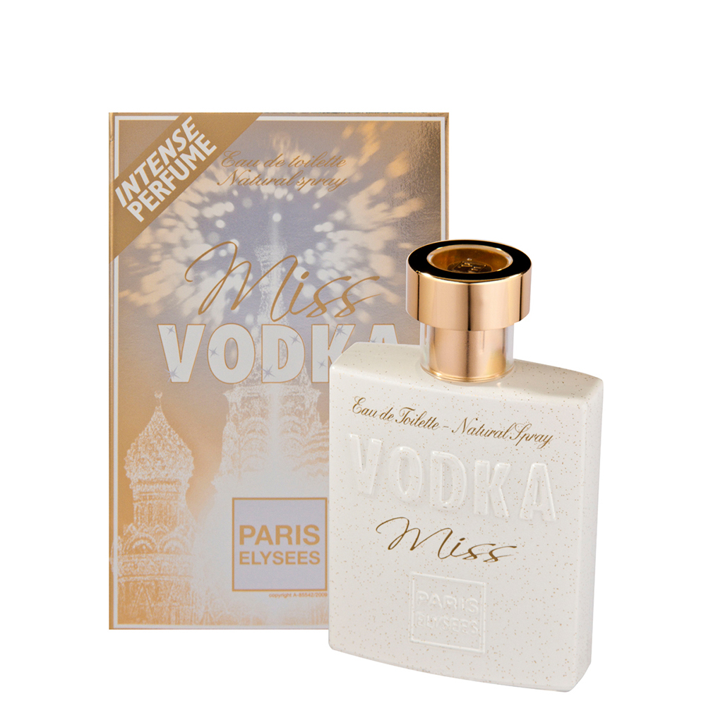Perfume Edt Paris Elysees Feminino Miss Vodka 100ml - Pc