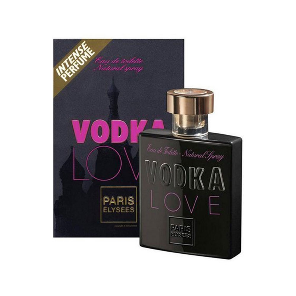 Perfume Edt Paris Elysees Feminino Vodka Love 100ml - Pc