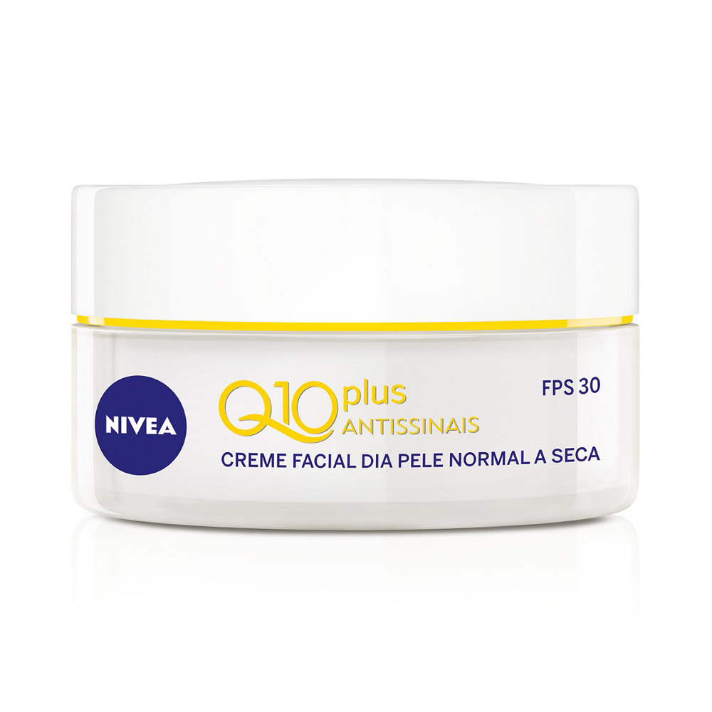 Creme Nivea Q10 Plus Antissinais Dia Fps 30 Pele Normal a Se