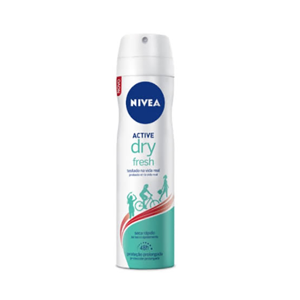 Desodorante Aero Nivea 150ml Dry Fresh Fem. - Pc