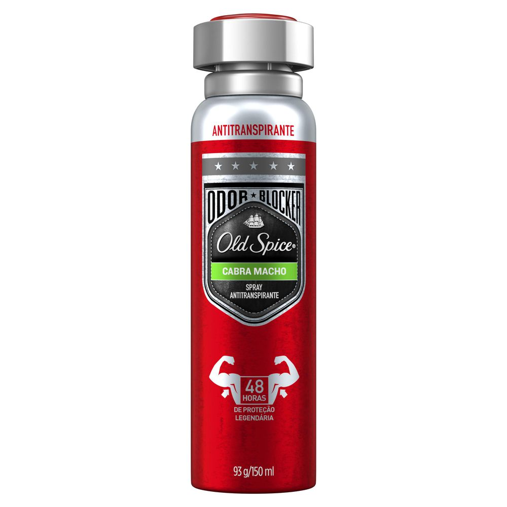 Desodorante Aero Old Spice 150ml Cabra Macho - Pc