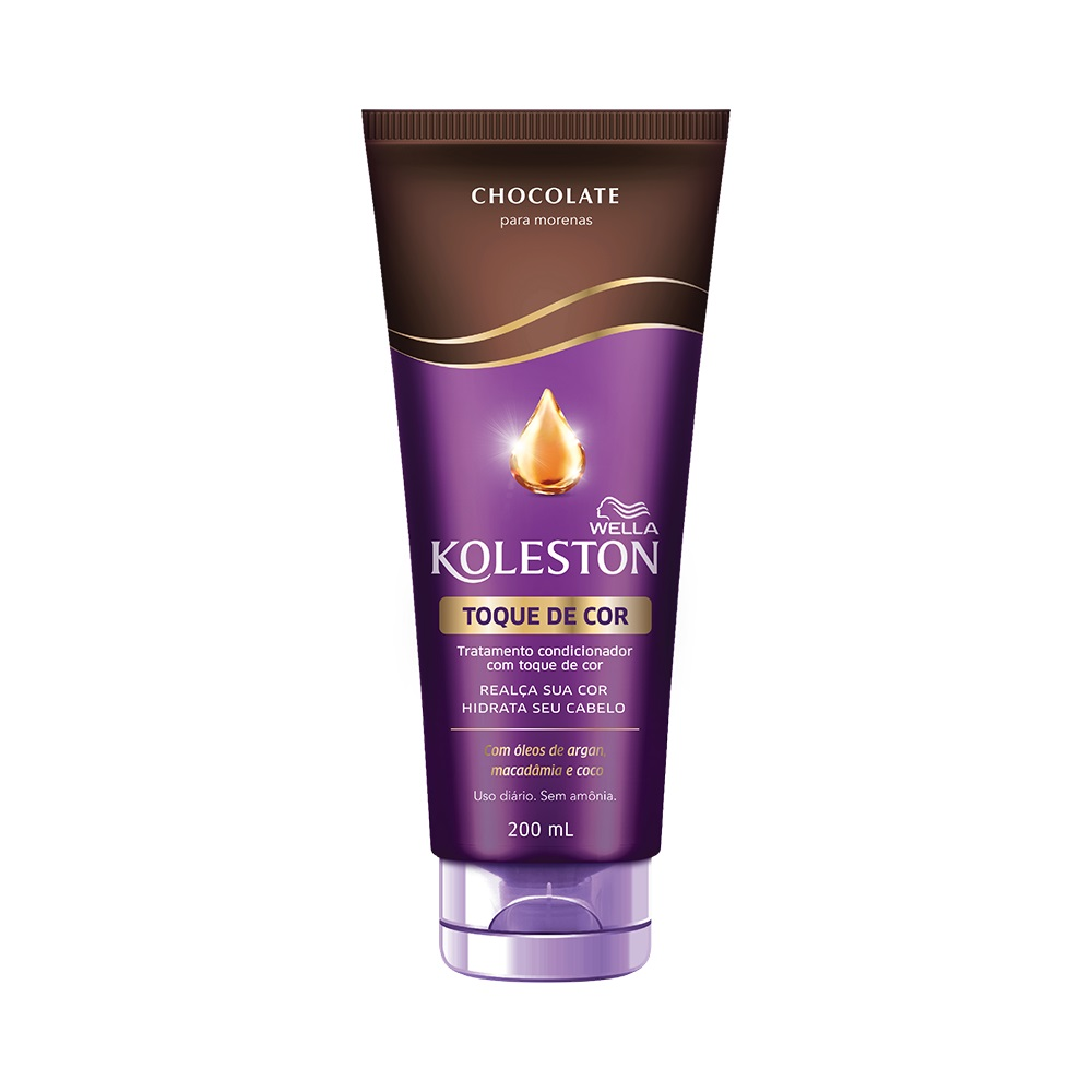 Condicionador Koleston Toque de Cor Chocolate 200ml - Pc