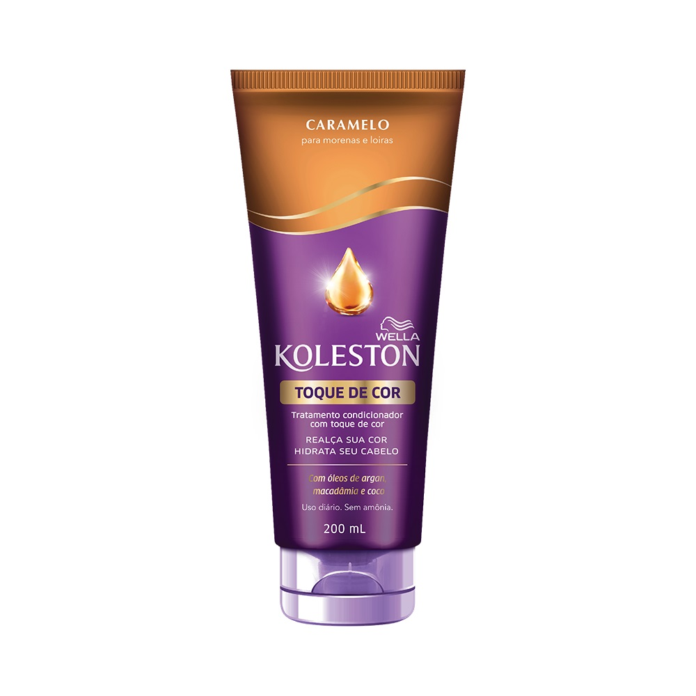 Condicionador Koleston Toque de Cor Caramelo 200ml - Pc