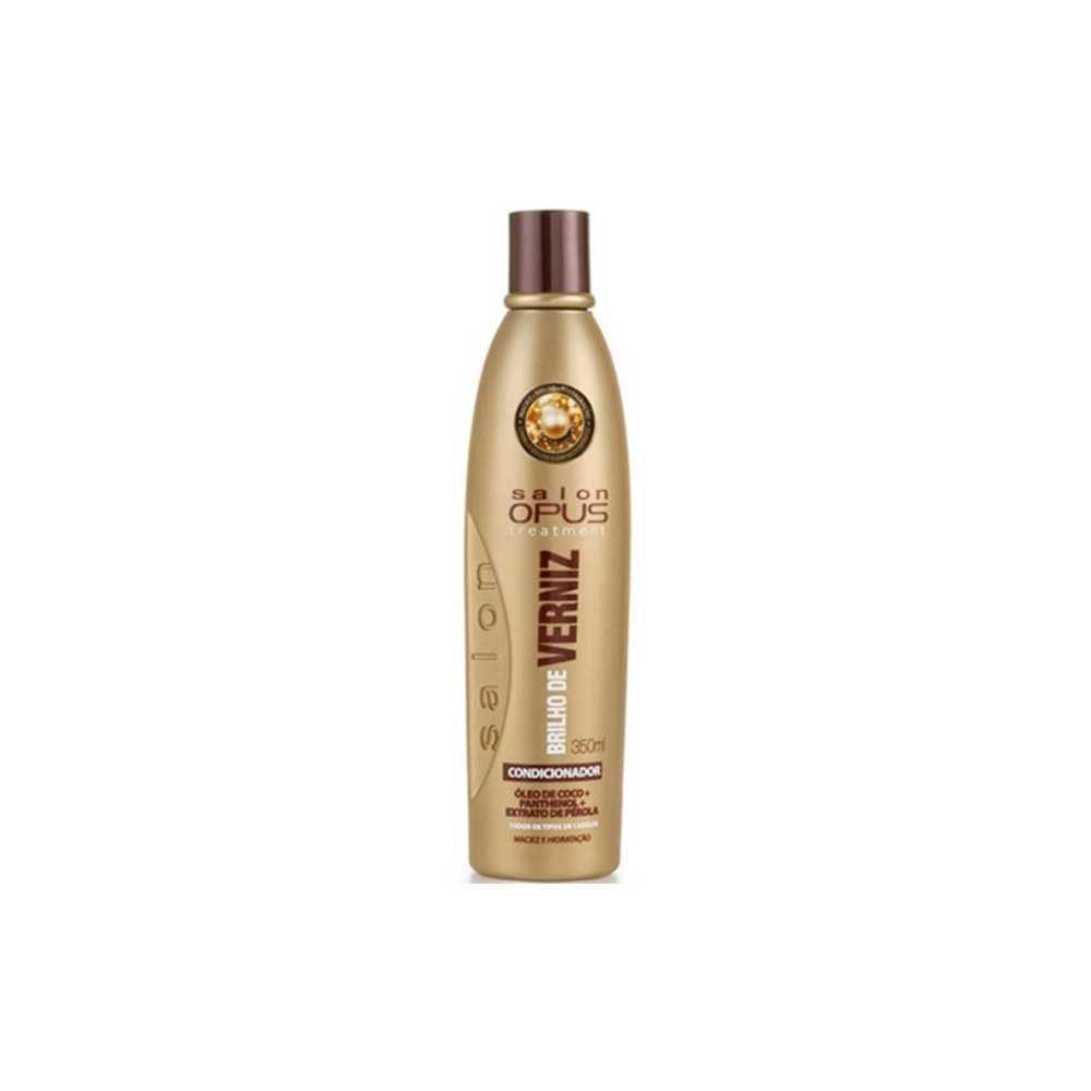 Condicionador Salon Opus Brilho Verniz 350ml - Pc