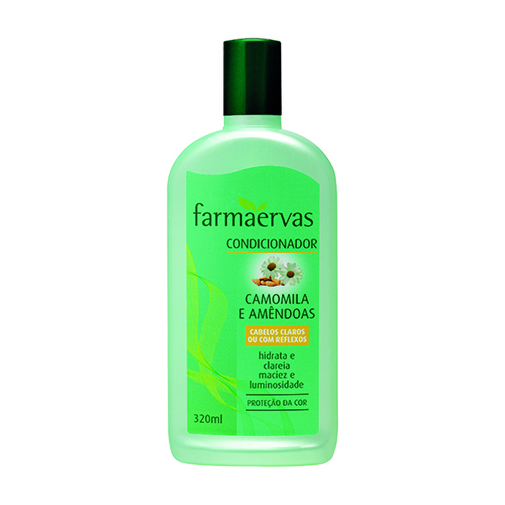 Condicionador Farmaervas 320ml Camomila/amendoas - Pc
