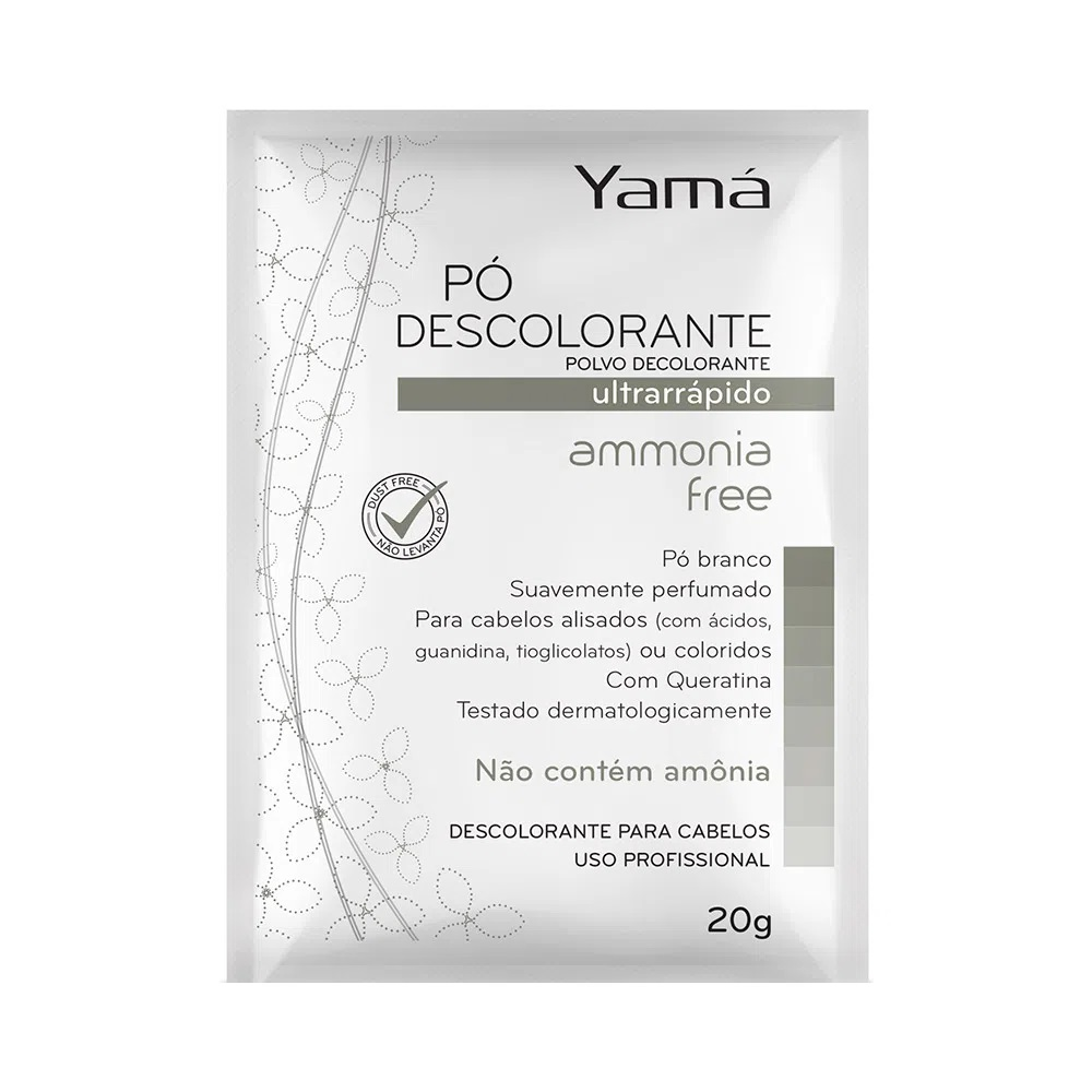 Descolorante Yama 20g Ammonia Free - Pc