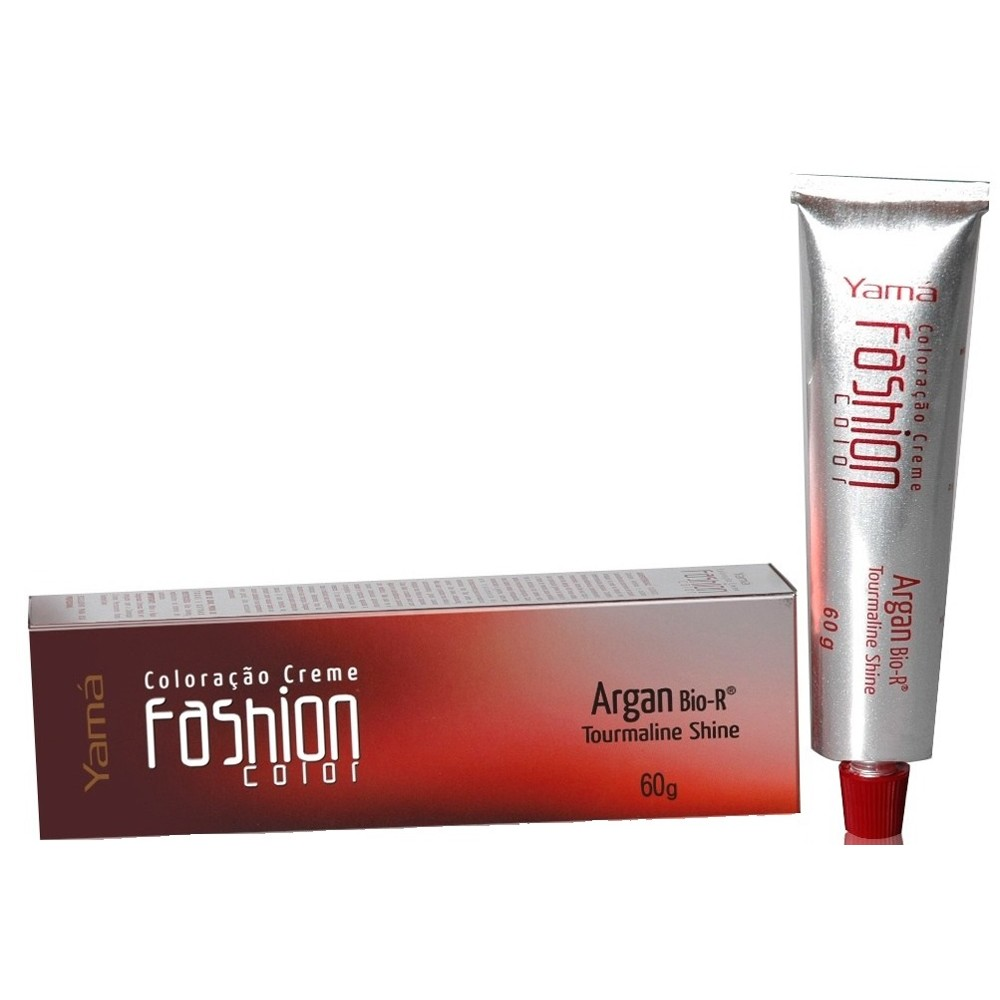 Coloração Fashion Color Argan 7.1 Louro Acinzentado - Pc