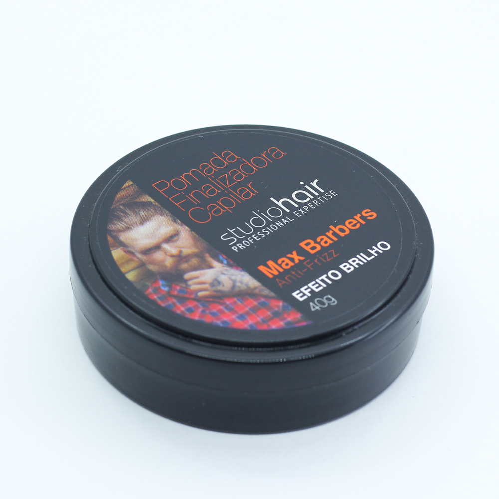 Pomada Finalizadora Studio Hair 40g Max Barbers - Pc