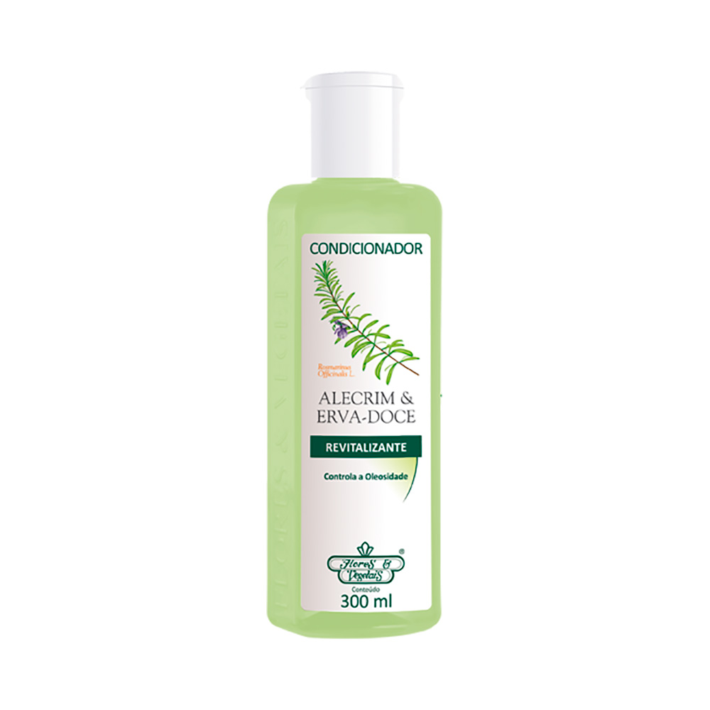 Condicionador Flores & Vegetais Alecrim 300ml - Pc