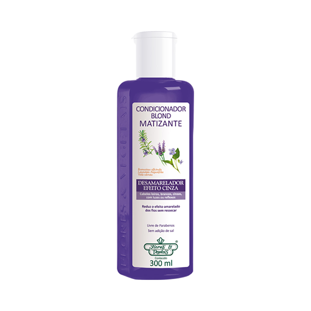 Condicionador Flores e Veg.300ml Blond Matizante - Pc
