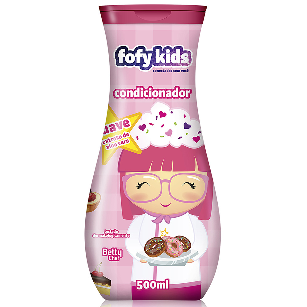 Condicionador Fofy Kids 500ml Suave - Pc