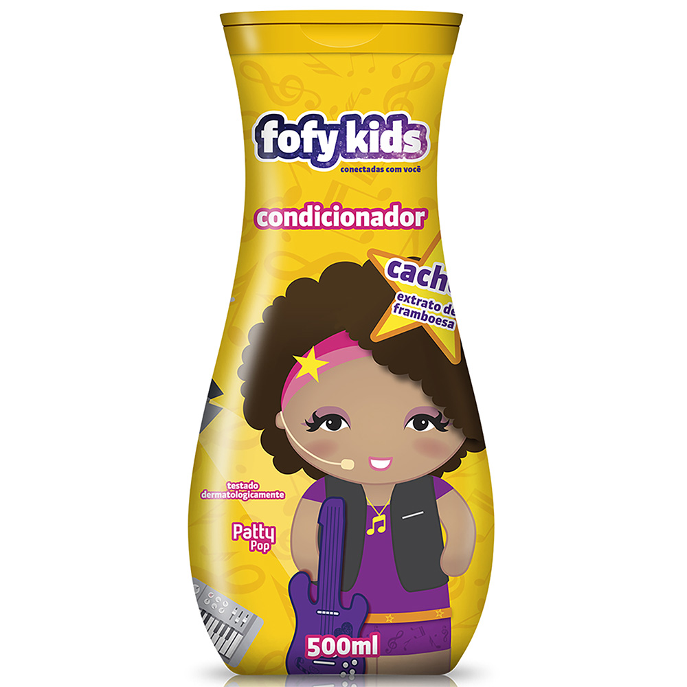 Condicionador Fofy Kids 500ml Cachos - Pc