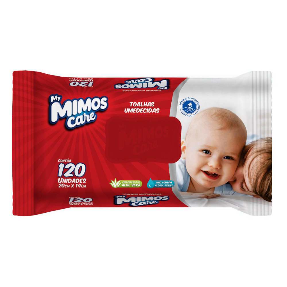 Toalhas Umed.my Mimos Care C.120 - Pc