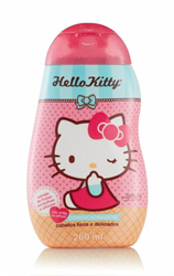 Condicionador Infantil Hello Kitty 260ml Cab.lis.e Del - Pc