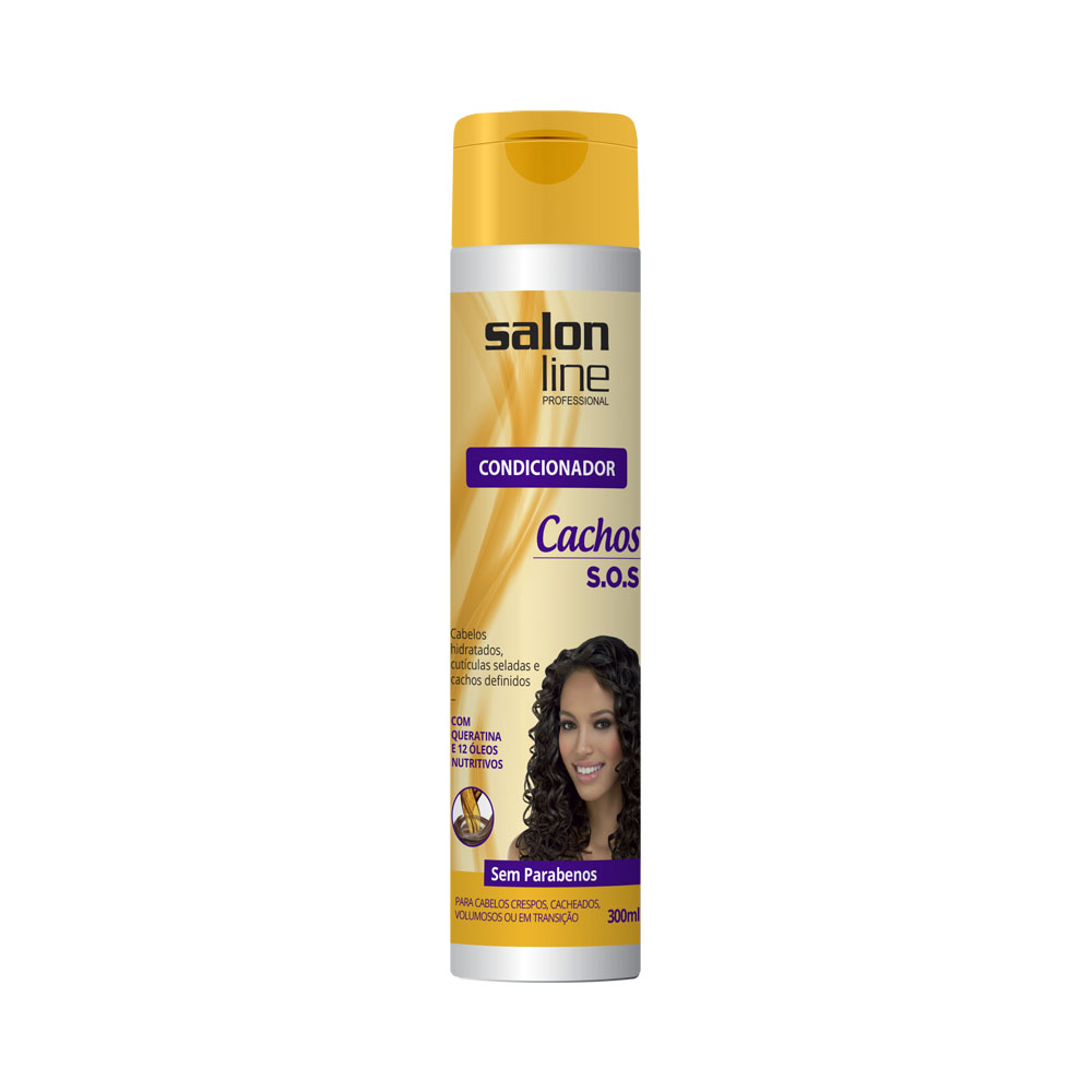 Condicionador Salon Line Sos Cachos 300ml - Pc