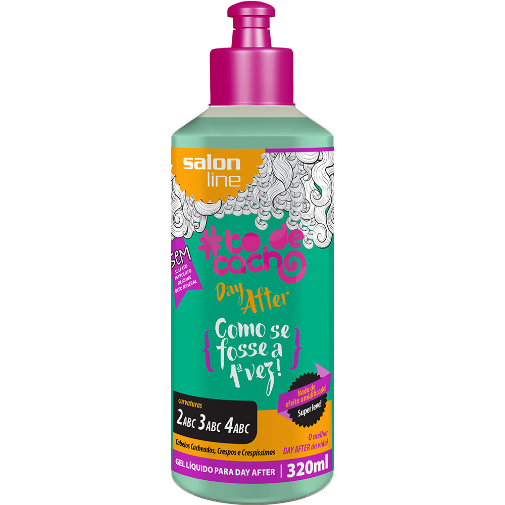 Gel Líquido Salon Line #todecacho Day After 320ml - Pc