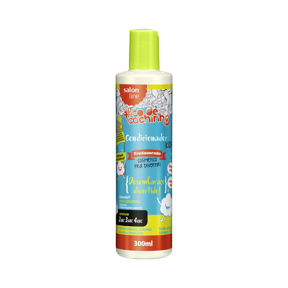 Condicionador Salon Line To de Cachinhos Kids 300ml - Pc