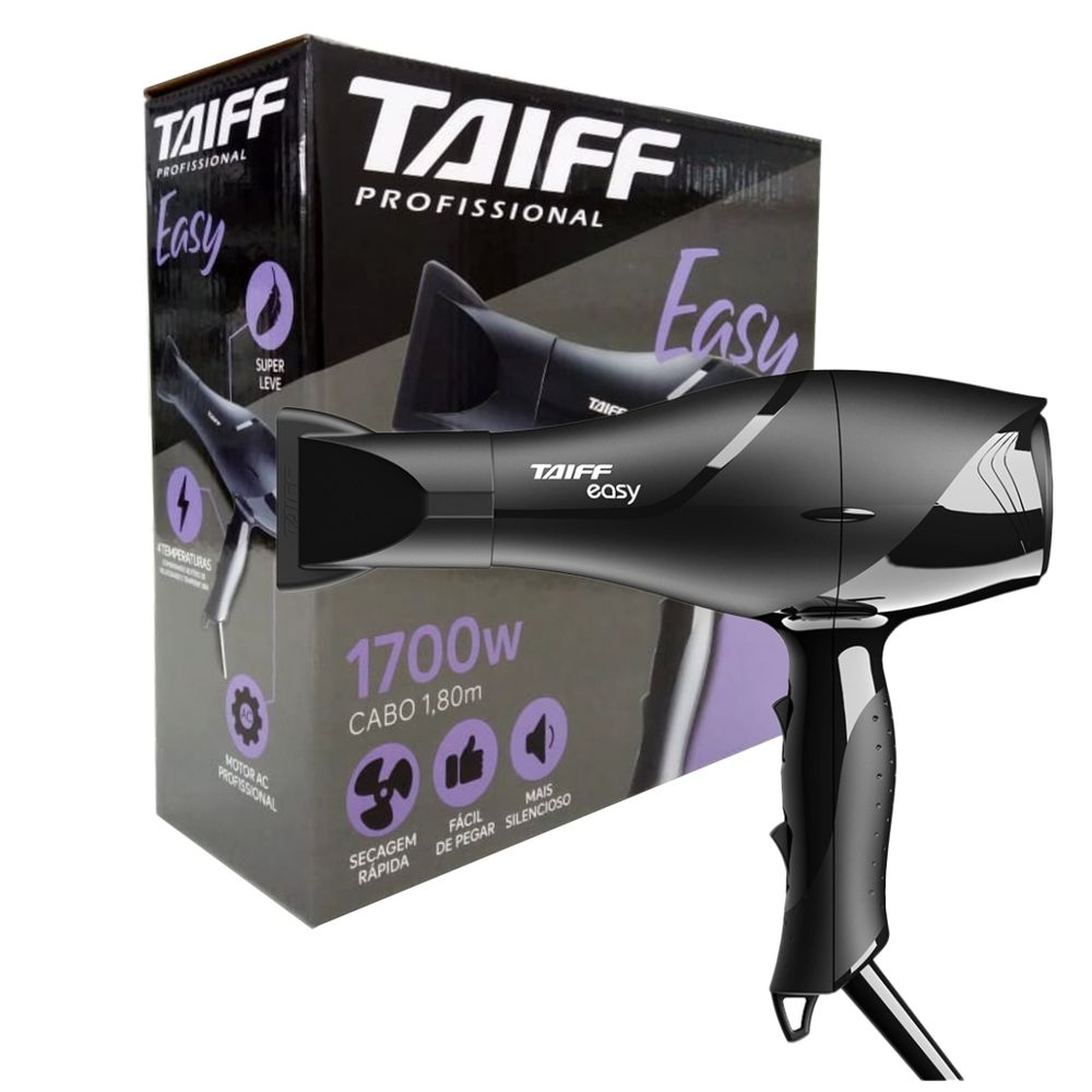 Secador Taiff Easy 1700w 127v - Pc