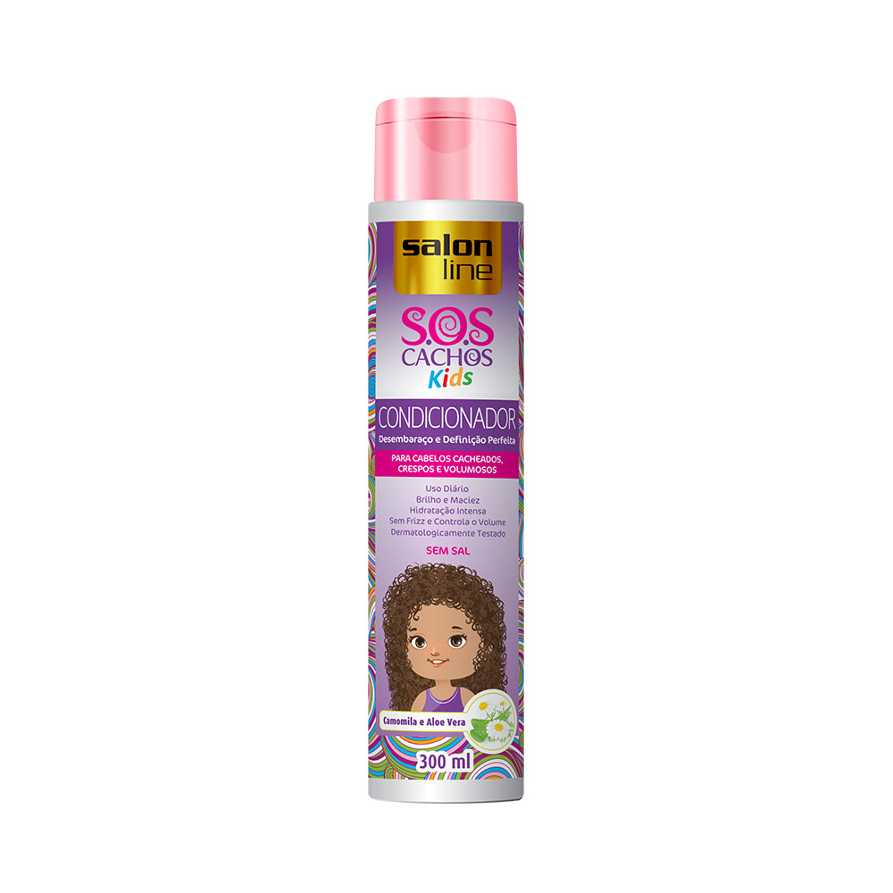 Condicionador Salon Line Sos Kids 300ml - Pc