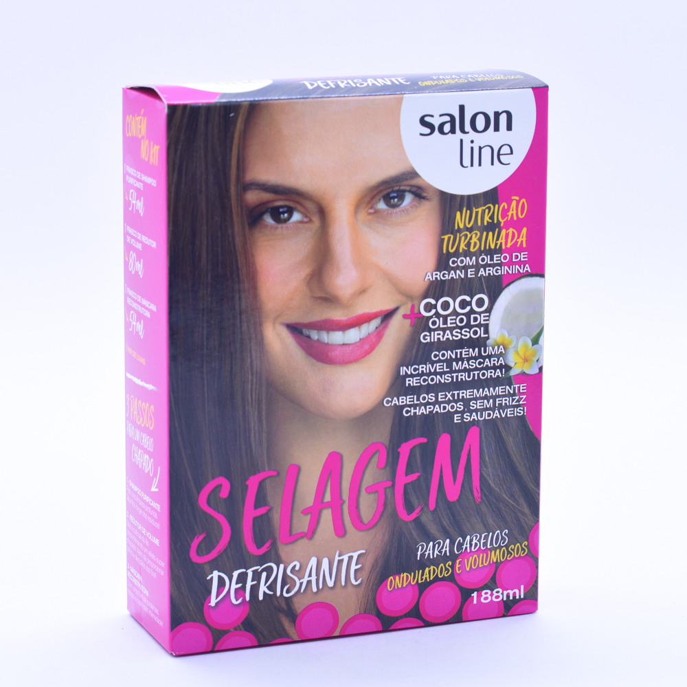 Selagem Defrisem Salon Line 188ml Ondulados Volumosos - Pc