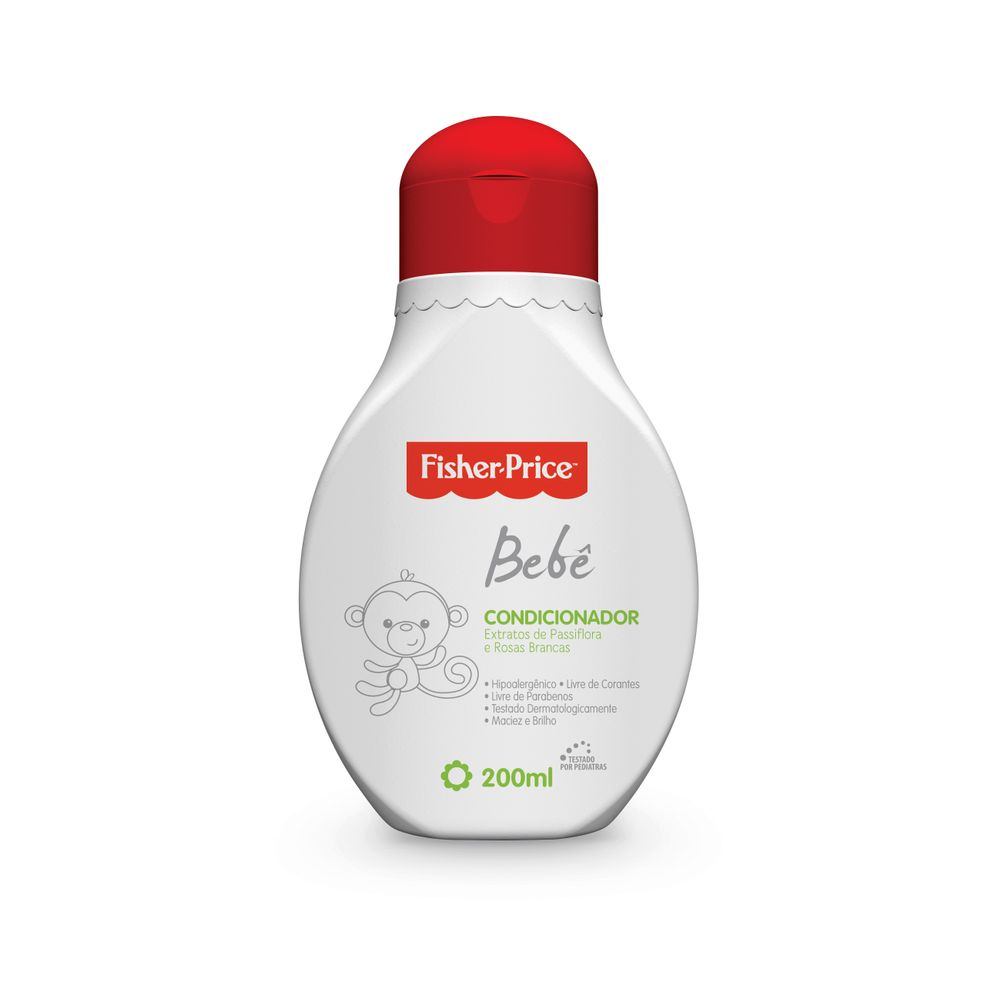 Condicionador Fisher-price Bebê 200ml - Pc