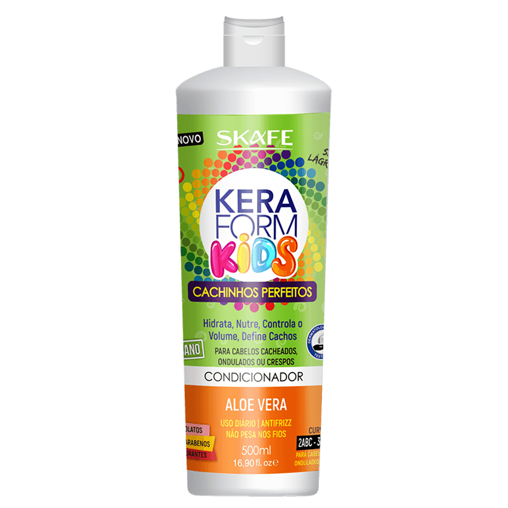 Condicionador Keraform 500ml Kids Cachinhos Perfeitos - Pc