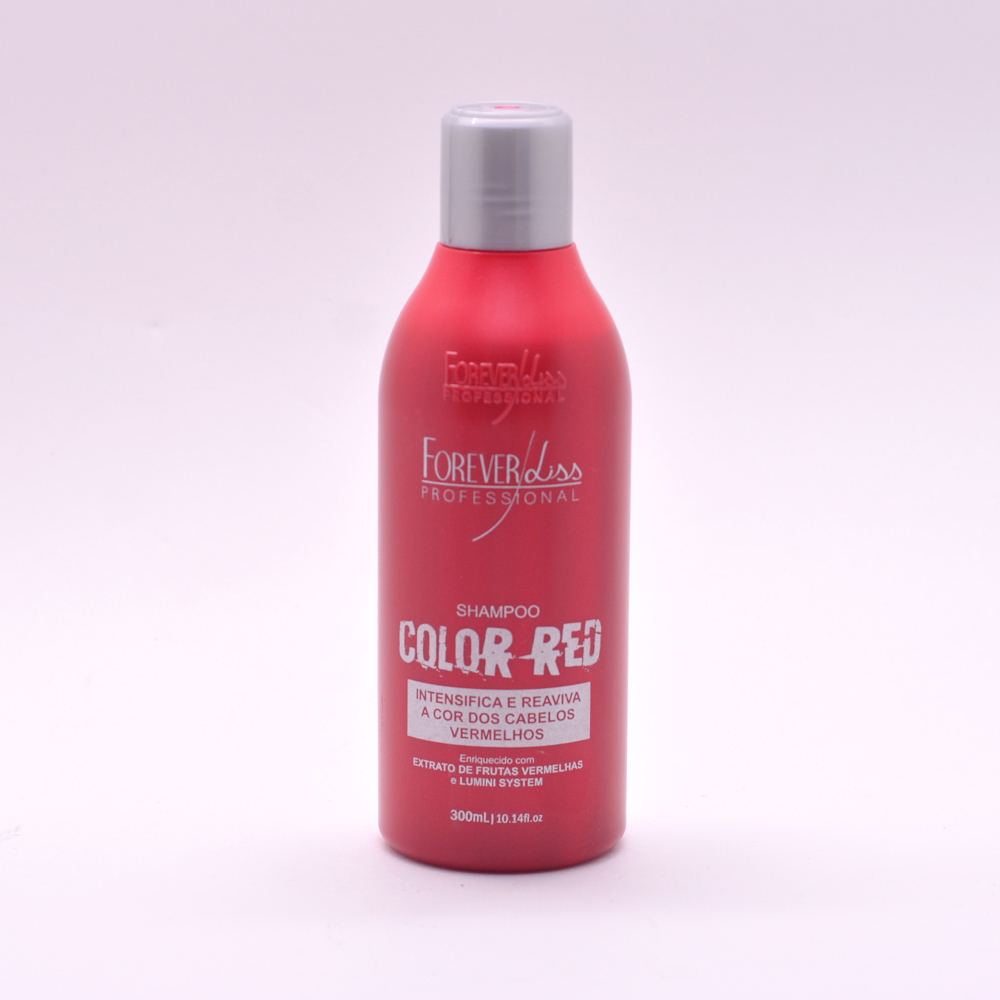 Shampoo Color Red Forever Liss 300ml - Pc