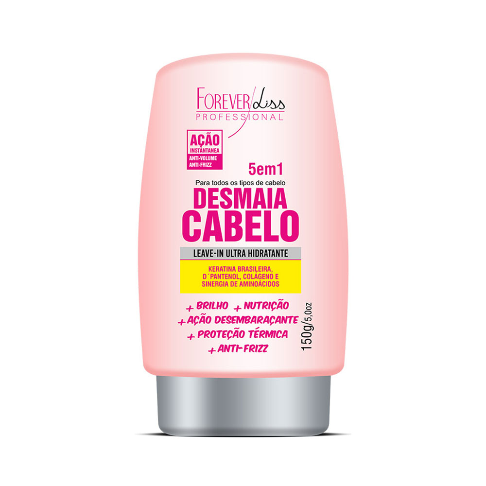 Leave-in Desmaia Cabelo Forever Liss 150g - Pc