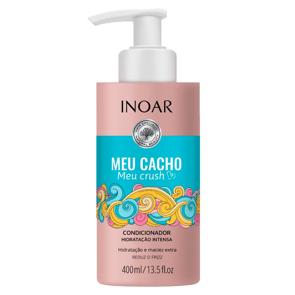 Condicionador Inoar 400ml Meu Cacho Meu Crush - Pc