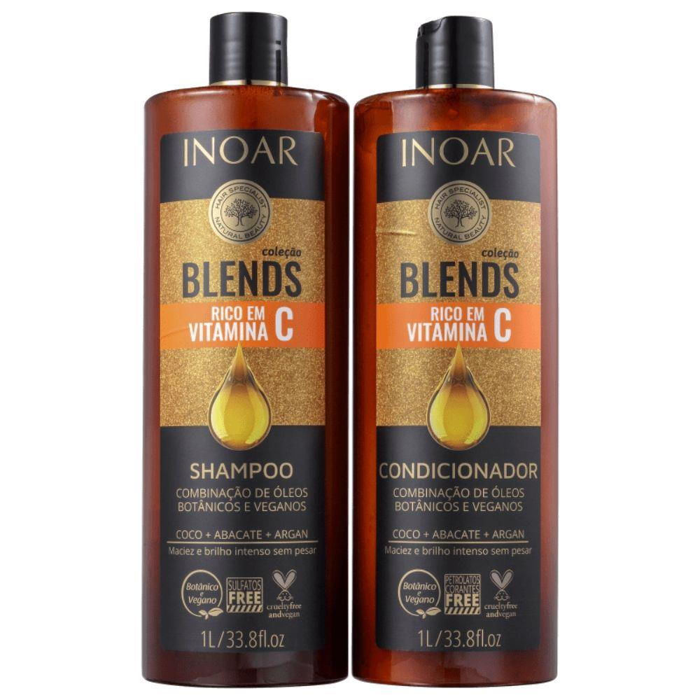 Kit Inoar Blends Shampoo+condicionador 1000ml - Pc