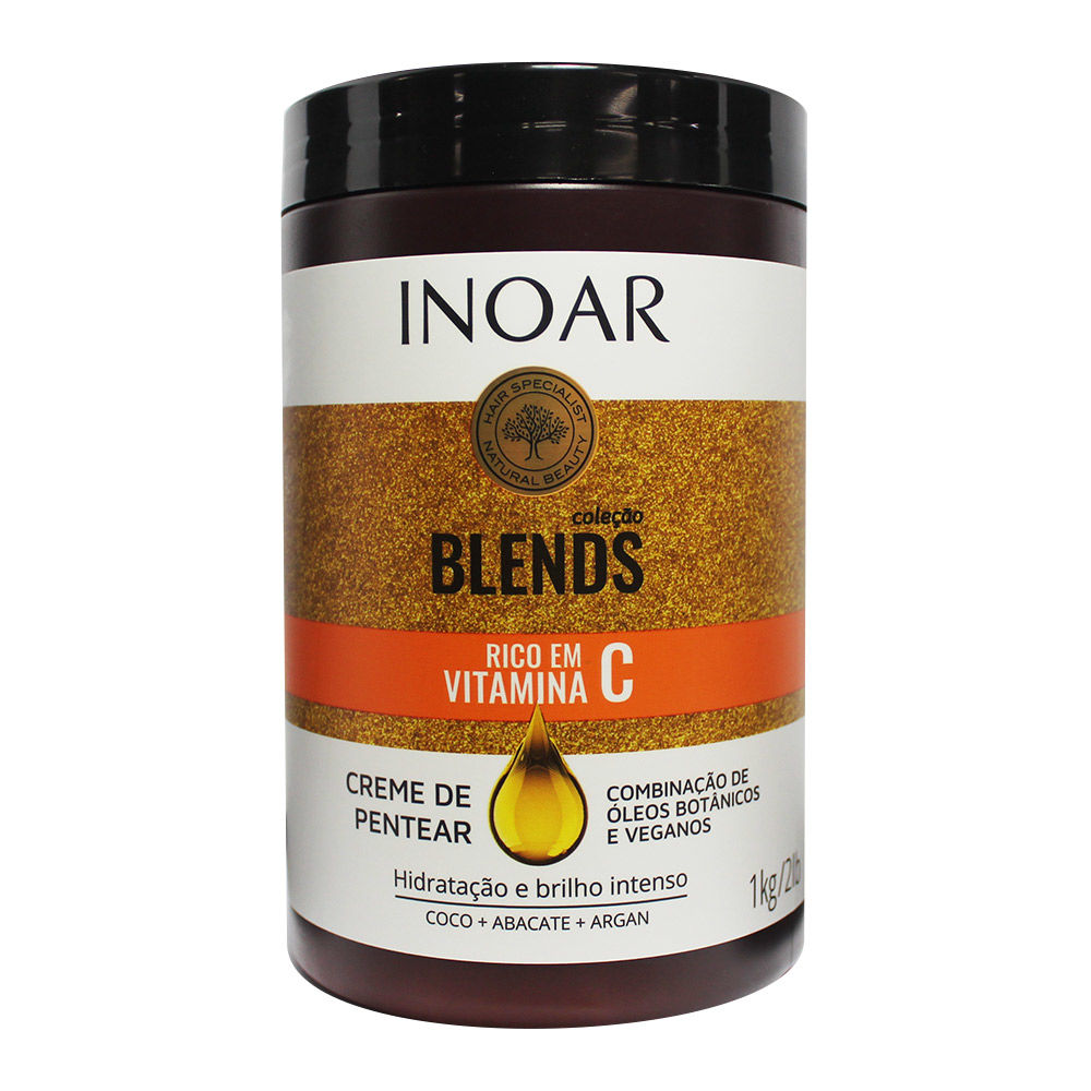 Creme de Pentear Inoar 1000g Blends - Pc