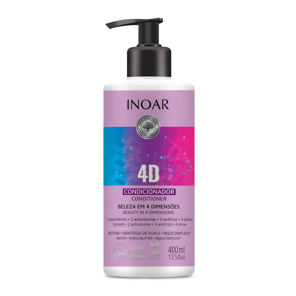 Condicionador Inoar 400ml 4d - Pc